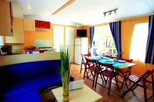 Mobil home PRESTIGE 6/8 personnes 3 chambres intérieur