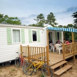 Mobil home GRAND CONFORT 3 chambres 6 personnes