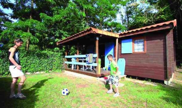 Chalet Bois 5 personnes 2 chambres