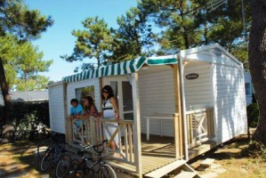 Mobil home GRAND CONFORT 2 chambres 7 personnes