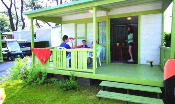 Bungalow Bois - 2 chambres 5 personnes