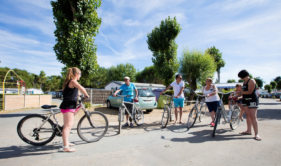 Camping proche pistes cyclables